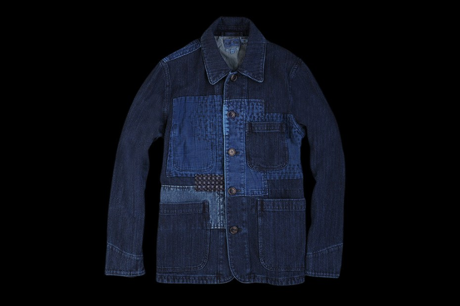 Image of BLUE BLUE 2012 Fall/Winter Sashiko Fabric Coverall Jacket
