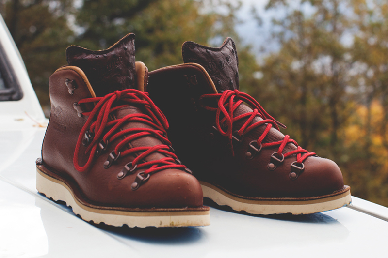 Image of Boylston Trading Co. x Danner Mountain Light II Back Bay Boots