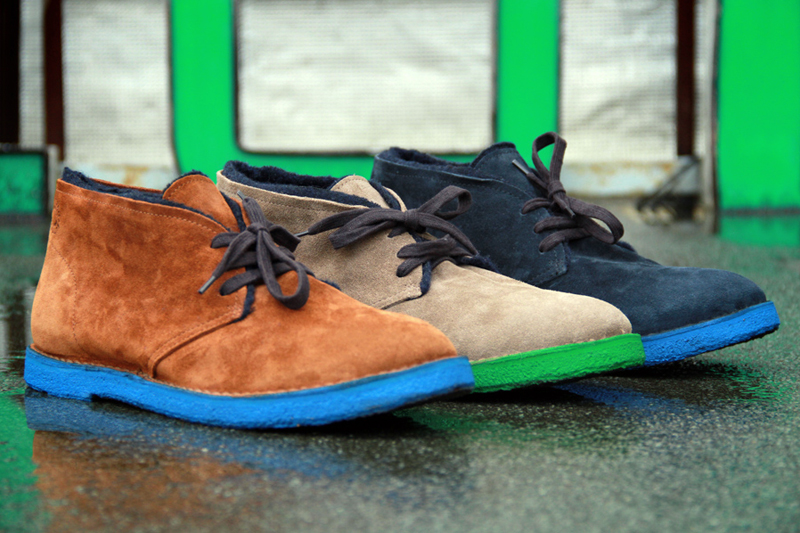 Image of Buttero 2012 Fall/Winter Colored Sole Desert Boots