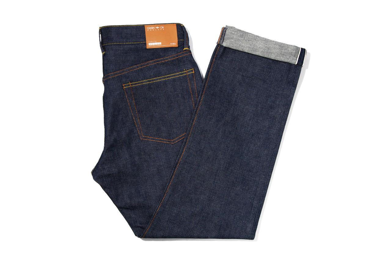 Image of CASH CA x NEIGHBORHOOD Indigo Jeans