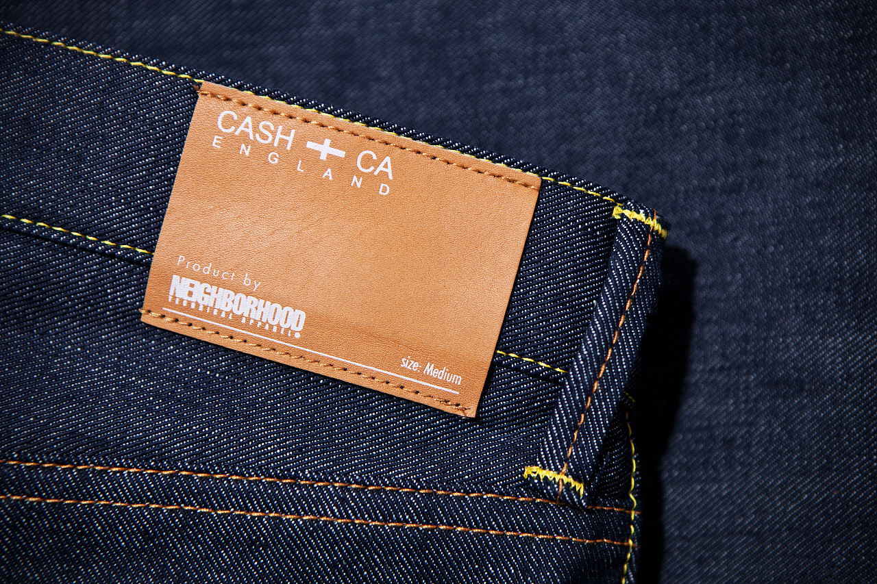 Image of CASH CA x NEIGHBORHOOD Indigo Jeans