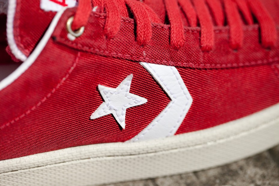 Image of CLOT x Converse First String Pro Leather Lows