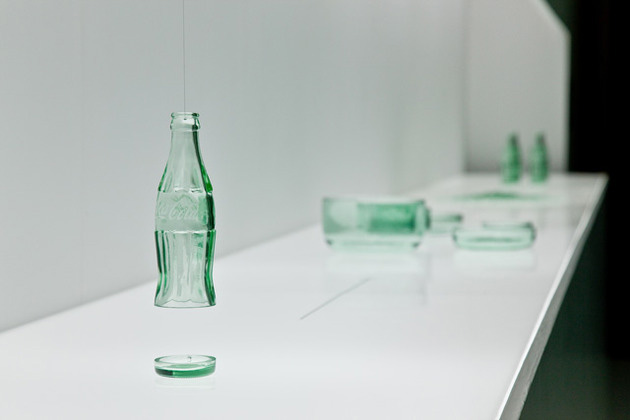 """Image of Coca-Cola """"Bottleware"""" Exhibition by nendo @ DESIGNTIDE TOKYO 2012"""