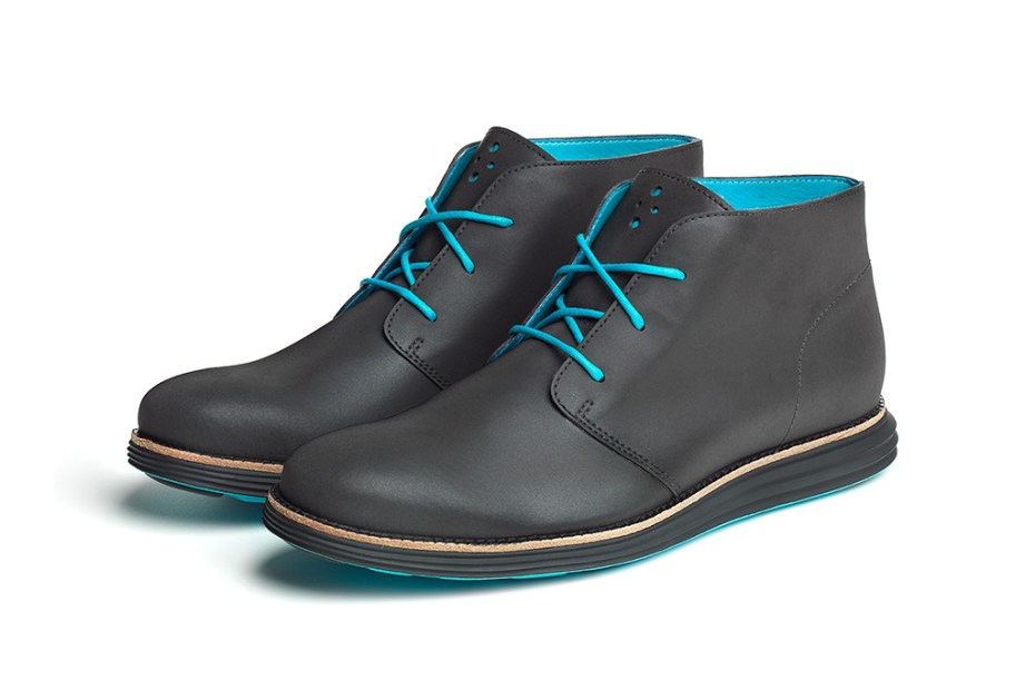 Image of Cole Haan Waterproof & Reflective Cooper Square & LunarGrand Chukkas