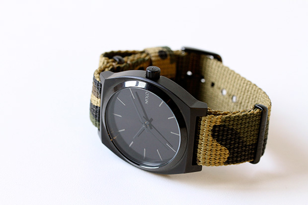 Image of colette x Nixon Time Teller Camo Watch 