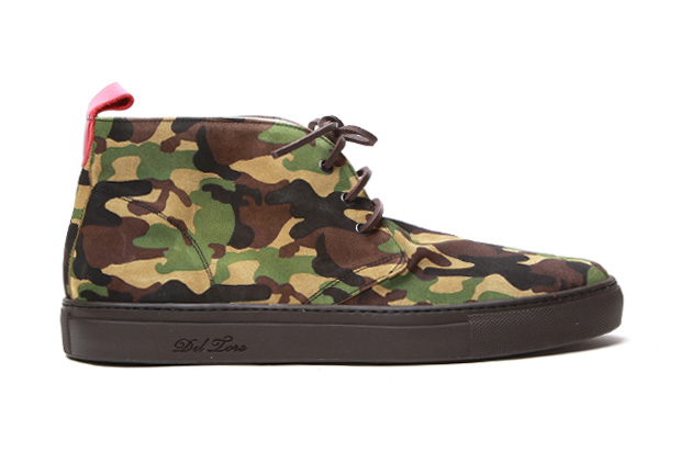Image of Del Toro Camo Alto Chukka
