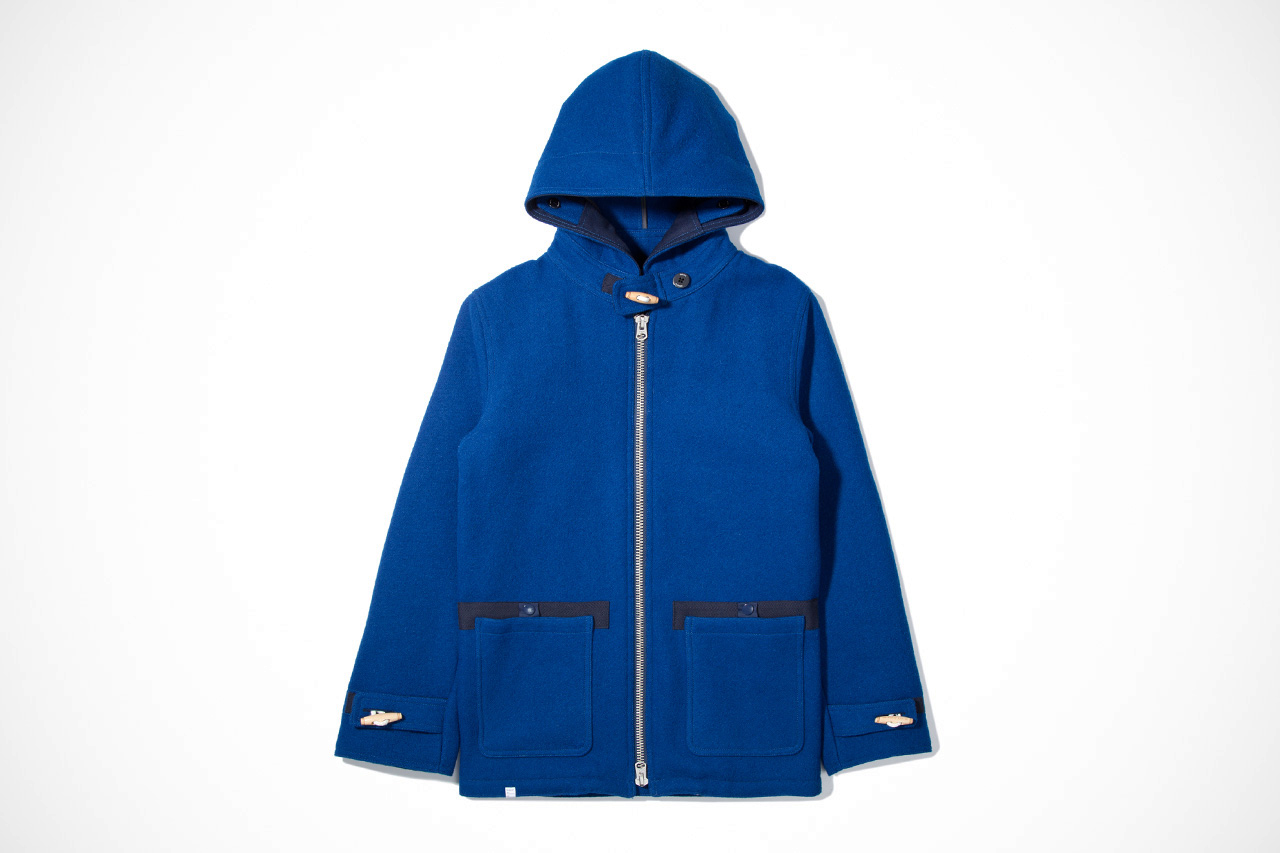 Image of Deluxe 2012 Fall/Winter Blue Long Journey Jacket