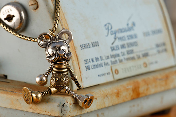 Image of Dr. Romanelli Recycled Mickey Mouse Necklace