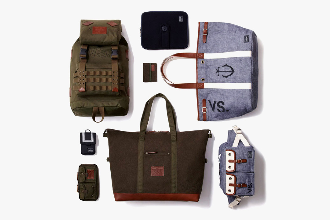 "Image of Dr. Romanelli x Head Porter ""Army vs. Navy"" Accessories Collection"