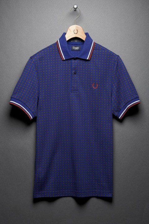 "Image of Drake's x Fred Perry Laurel Wreath 2012 Fall/Winter ""Blank Canvas"" Collection"