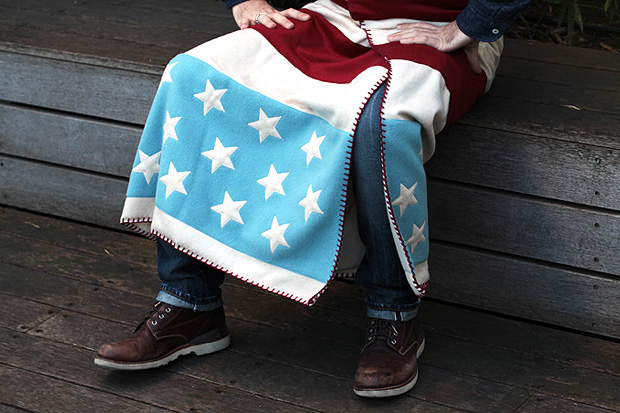 Image of FACETASM Stars & Stripes Blanket