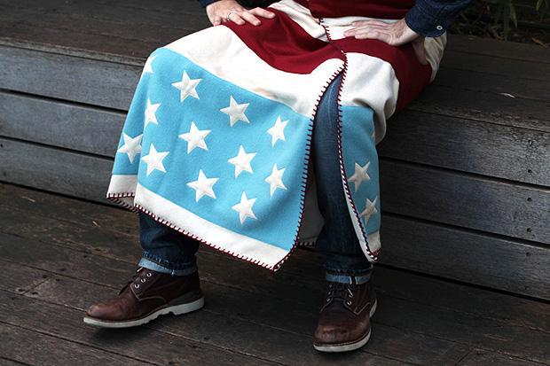 Image of FACETASM Stars & Stripes Blanket