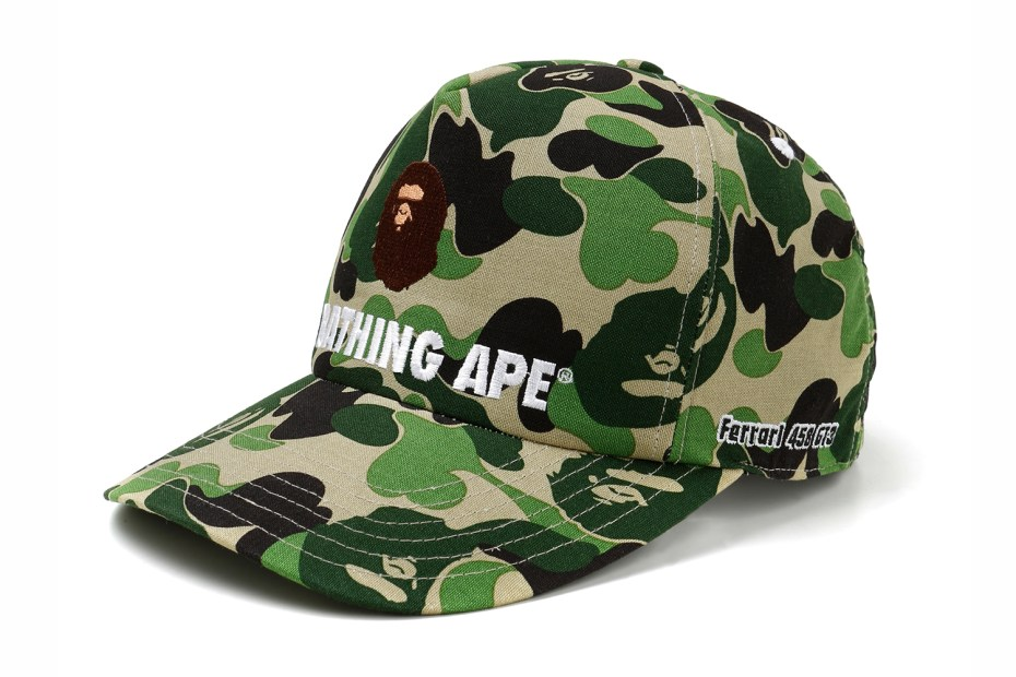 Image of Ferrari 458 GT3 x A Bathing Ape 2012 Capsule Collection