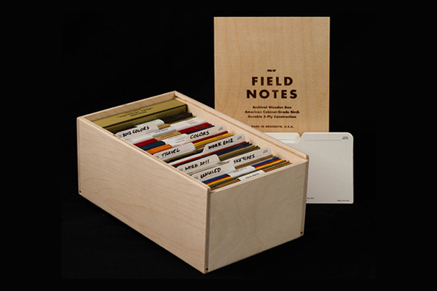 Image of Field Notes Archival Wooden Box