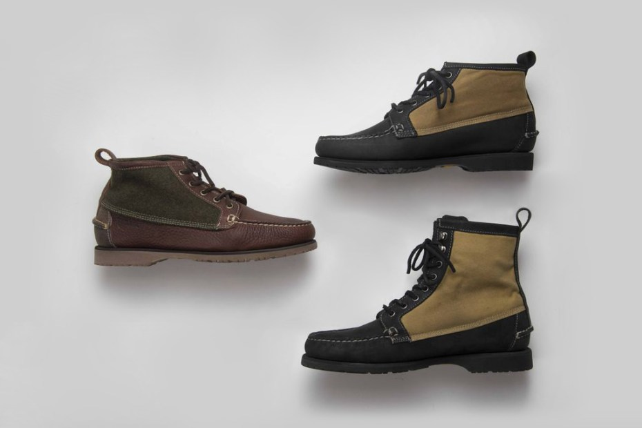 Image of Filson x Sebago 2012 Fall/Winter Knit Tin Cloth Boot