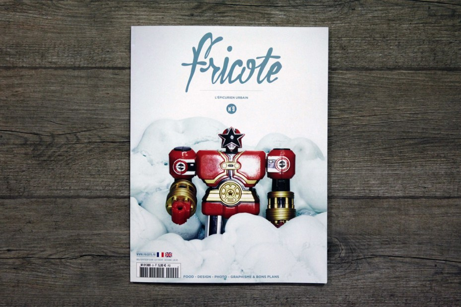 Image of Fricote Magazine Issue #9