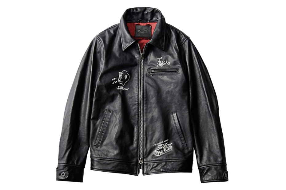 Image of FUCT SSDD 2012 Leather Jacket
