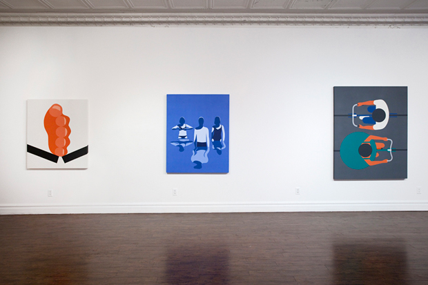 Image of Geoff McFetridge Exhibition @ Cooper Cole Gallery