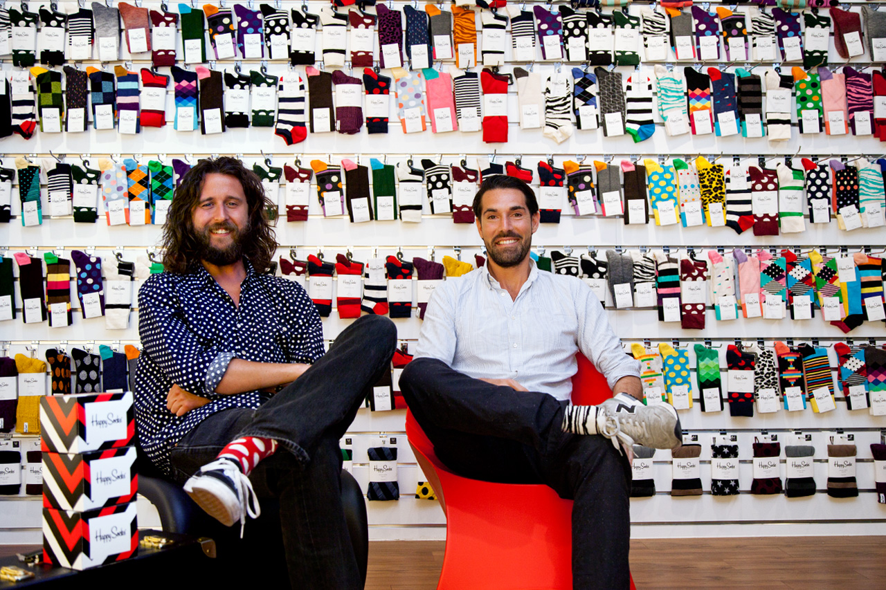 Image of Happy Feet: An Interview with Viktor Tell and Mikael Soderlindh of Happy Socks