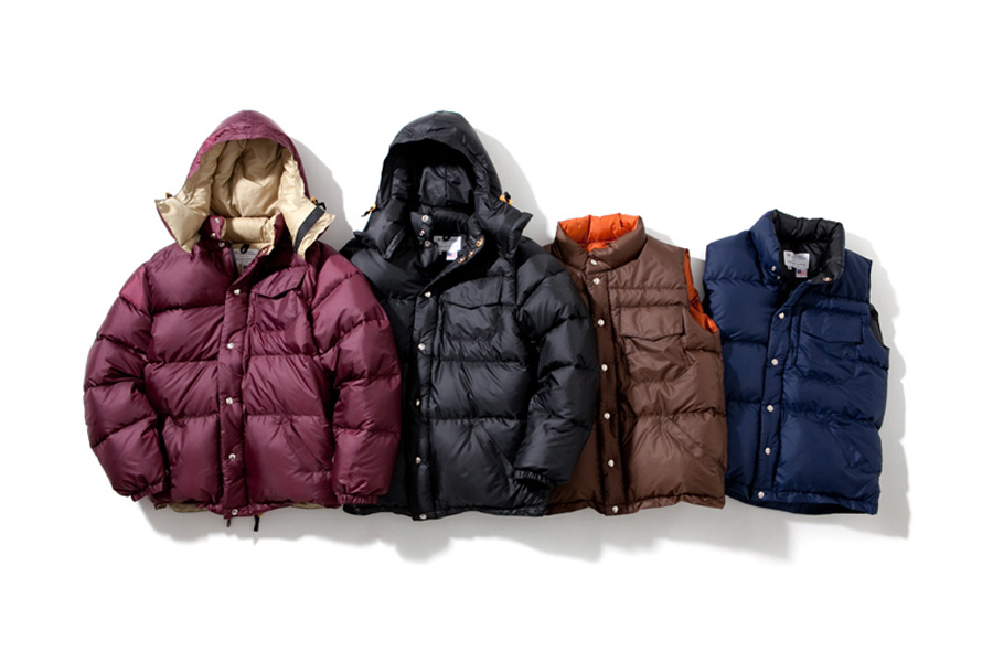 Image of Head Porter Plus x Crescent Down Works Outerwear Collection