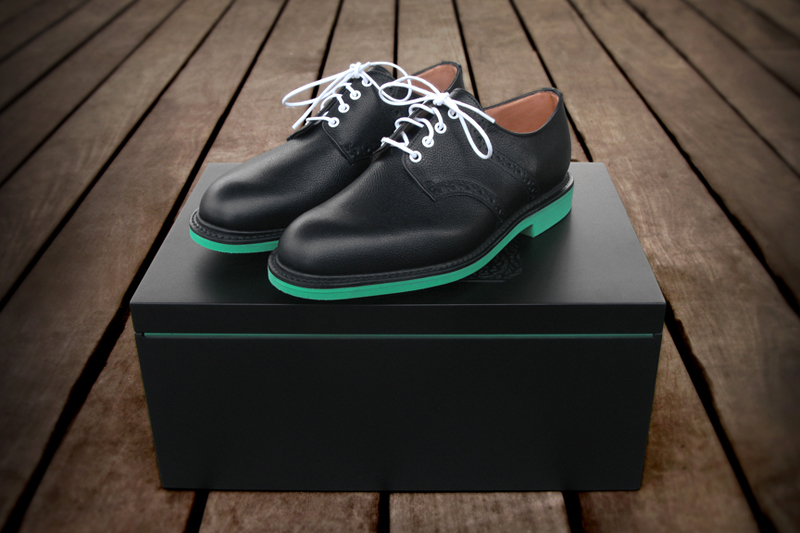 Image of Heineken x Union x Mark McNairy Saddle Shoe