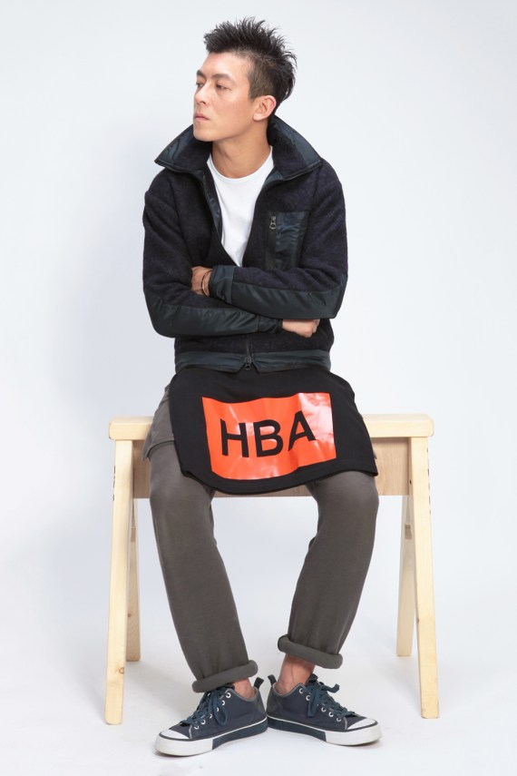 Image of Hood by Air 2012 Fall/Winter Styling Lookbook featuring Edison Chen