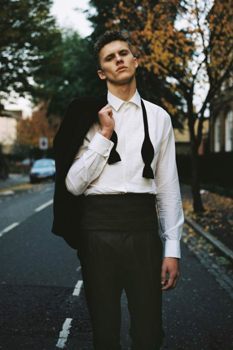 Image of i-D Magazine: MR PORTER x Acne 2012 Fall/Winter Capsule Collection