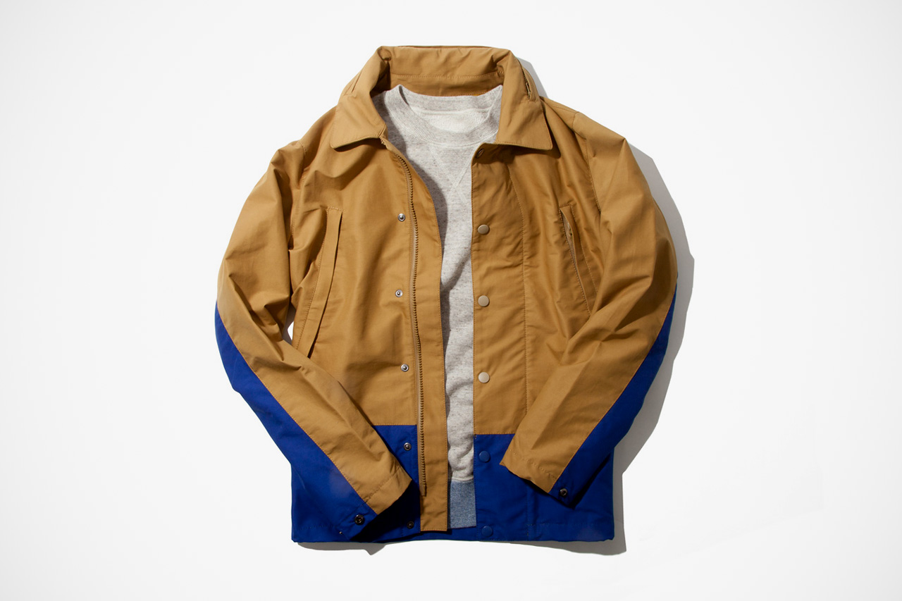 Image of IMIND 2012 Fall/Winter Beige Coach Jacket