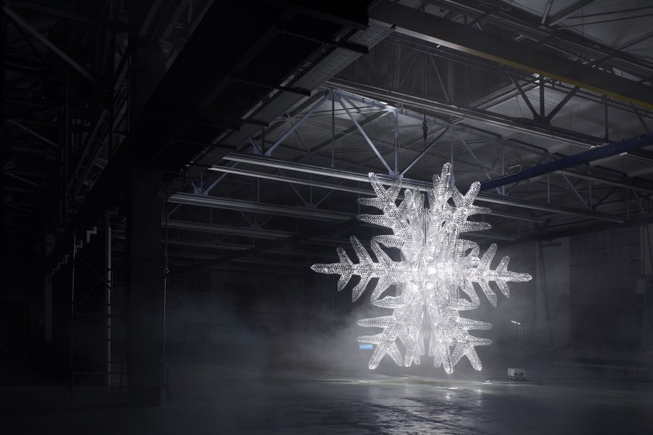 Image of Ingo Maurer and Baccarat UNICEF Snowflake