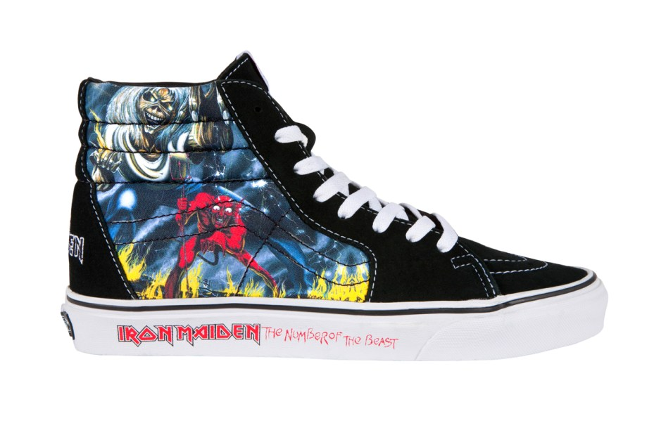 "Image of Iron Maiden x Vans ""The Number of the Beast"" 2012 Holiday Collection"