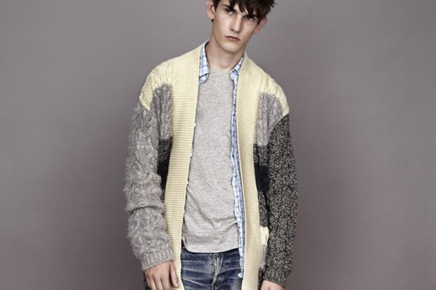 Image of James Long on his Capsule Knitwear Collection for Topman