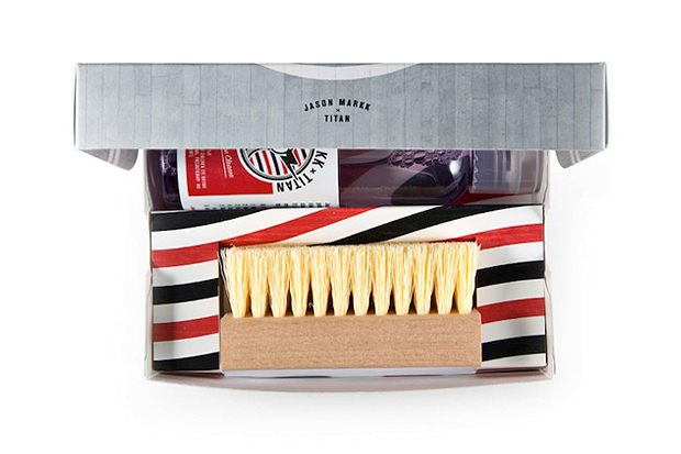 Image of Jason Markk x Titan Essential Shoe Grooming Kit