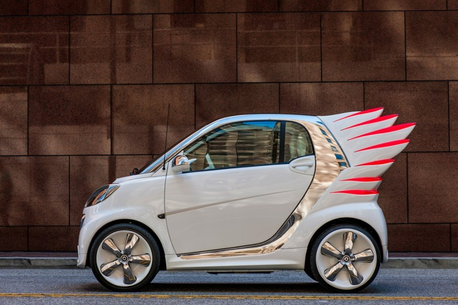 Image of Jeremy Scott Designs smart fortwo Electric Drive Car