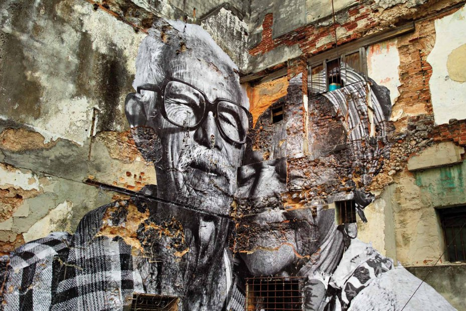 Image of JR and Jose Parla: Wrinkles of the City, Havana, Cuba Book