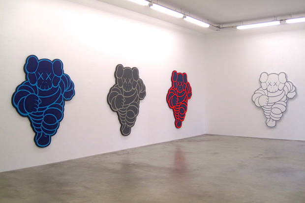 "Image of KAWS ""Imaginary Friends"" Exhibition @ Galerie Perrotin Paris Recap"
