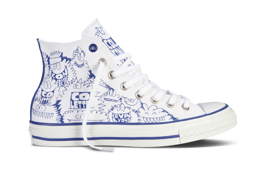 Image of Kevin Lyons x Converse Chuck Taylor All Star for colette