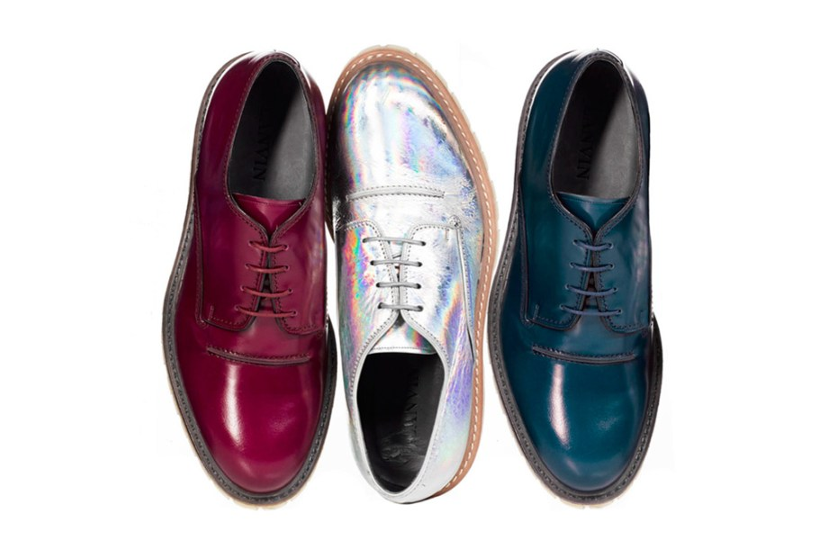 Image of Lanvin 2012 Fall/Winter Derby Shoes