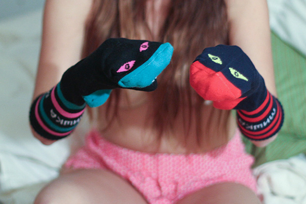 Image of Lauren Lepore Captures Beautiful Women in Mishka Socks