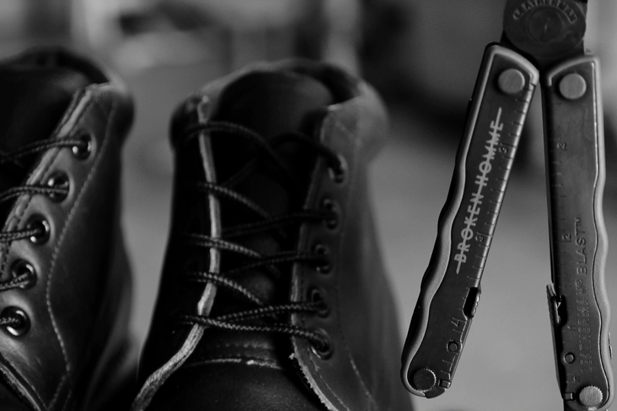 Image of Leatherman x BROKEN HOMME Footwear Collection
