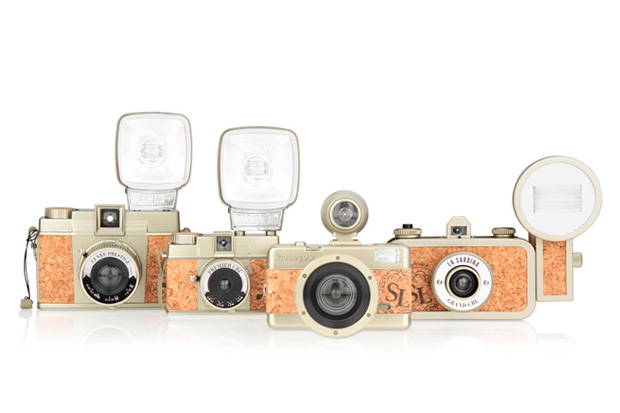 "Image of Lomography 2012 ""Champagne Edition"" Cork Cameras"