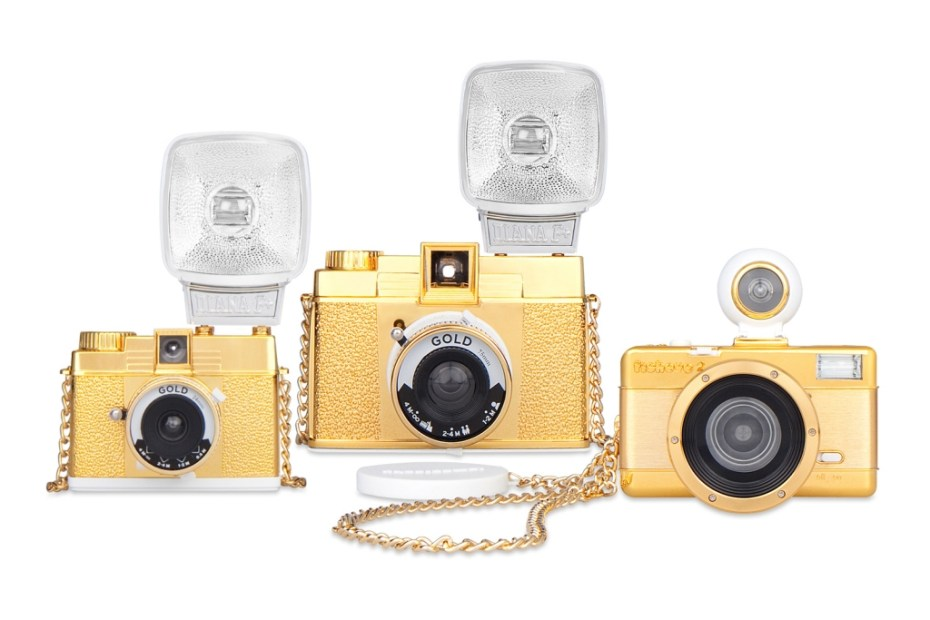 "Image of Lomography 2012 ""Gold"" Cameras"