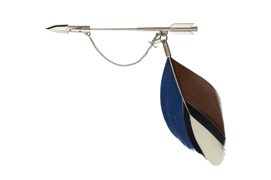 Image of Louis Vuitton 2012 Fall/Winter Feather Brooch Pins