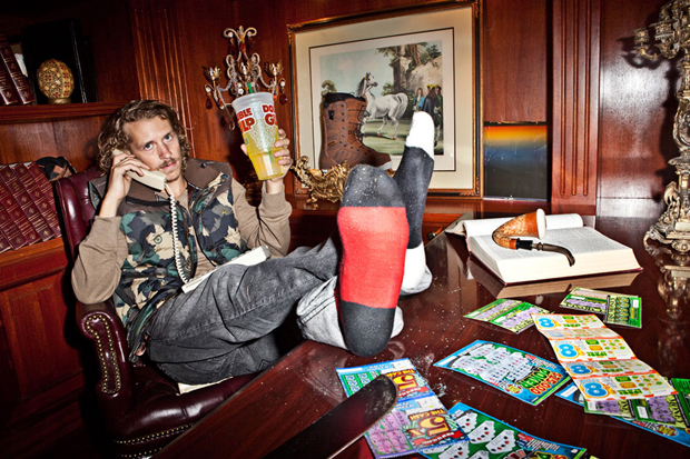 Image of LRG 2012 Holiday Lookbook featuring Gucci Mane