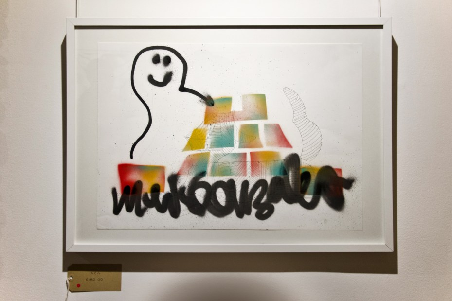 "Image of Mark Gonzales ""One Week, One Show"" @ The Church of London Recap"