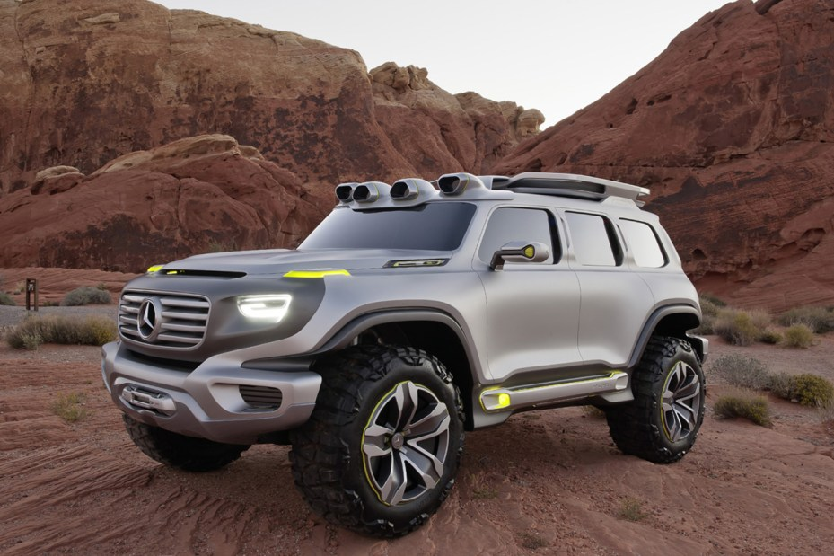 Image of Mercedes-Benz Ener-G-Force Concept