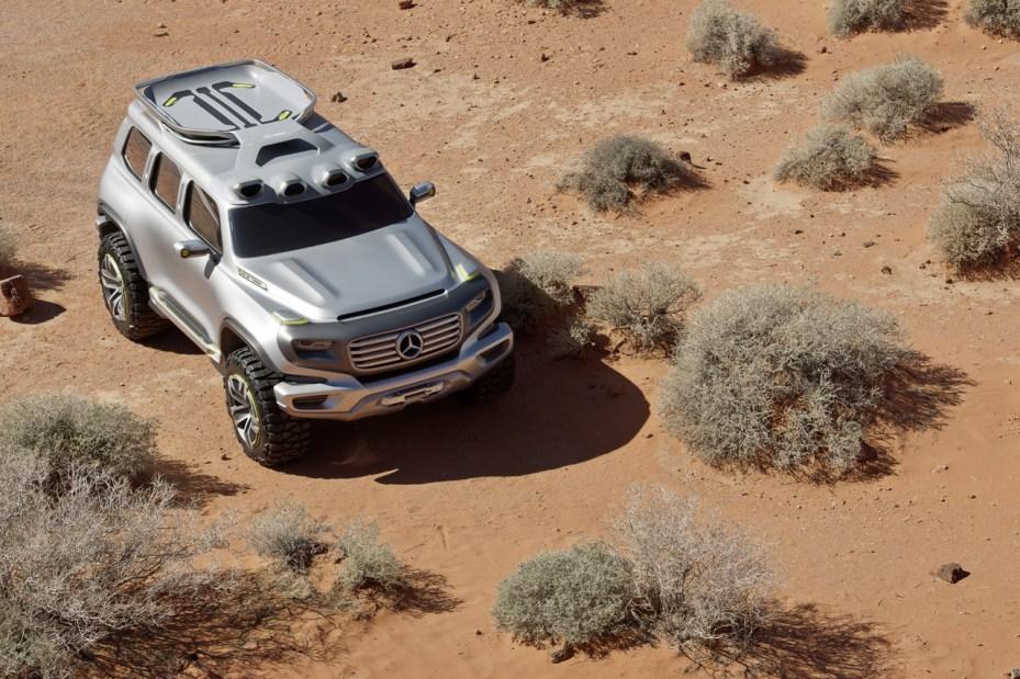 Image of Mercedes-Benz Ener-G-Force Concept