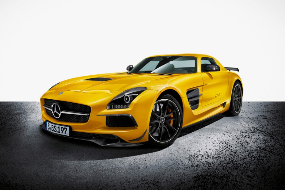 Image of Mercedes-Benz Unveils the 2014MY SLS AMG Black Series