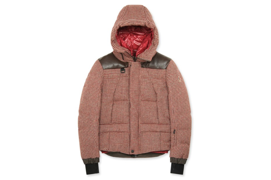 Image of Moncler Grenoble Check Down Jacket