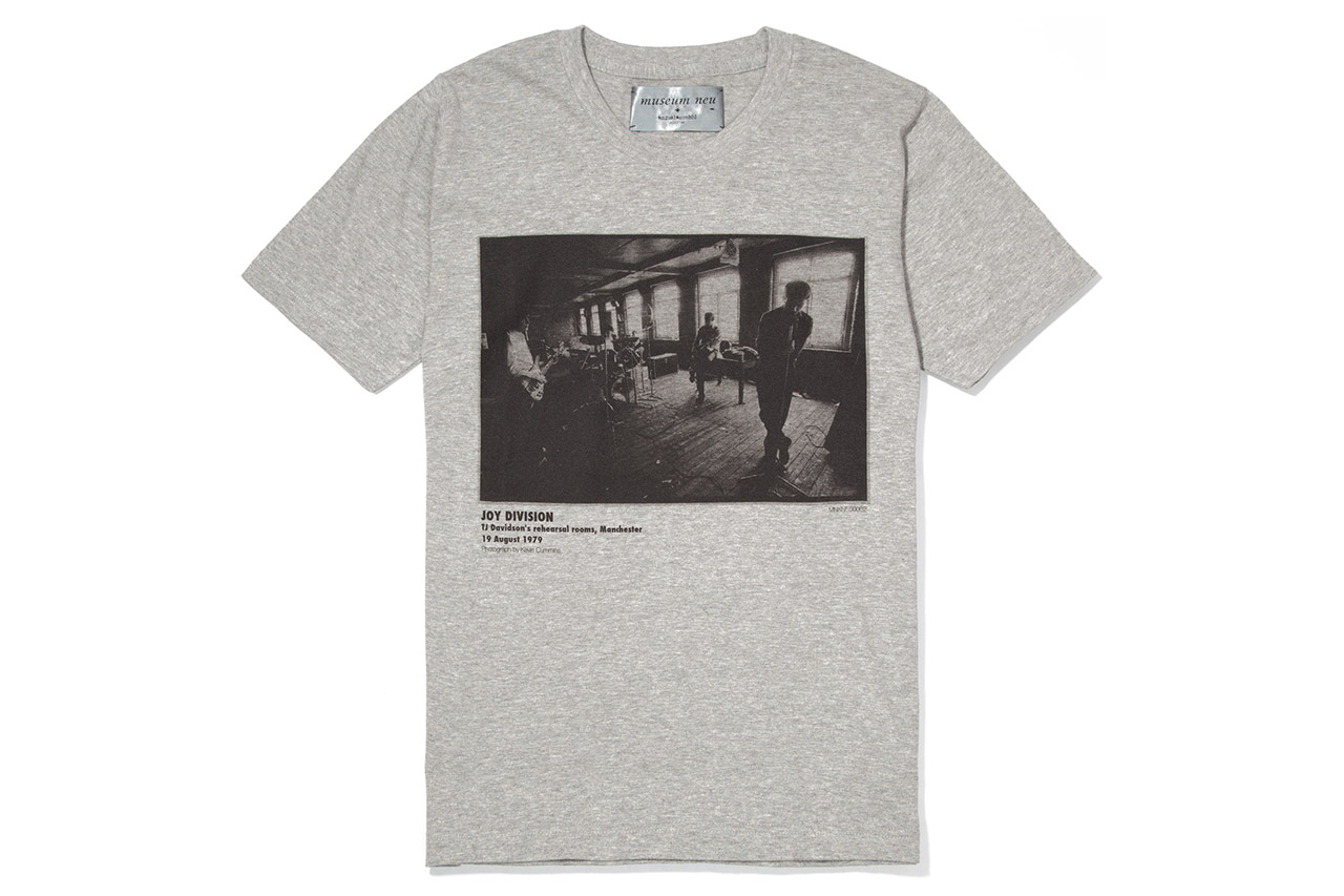 Image of museum neu x Kazuki Kuraishi 2012 Joy Division Capsule Collection