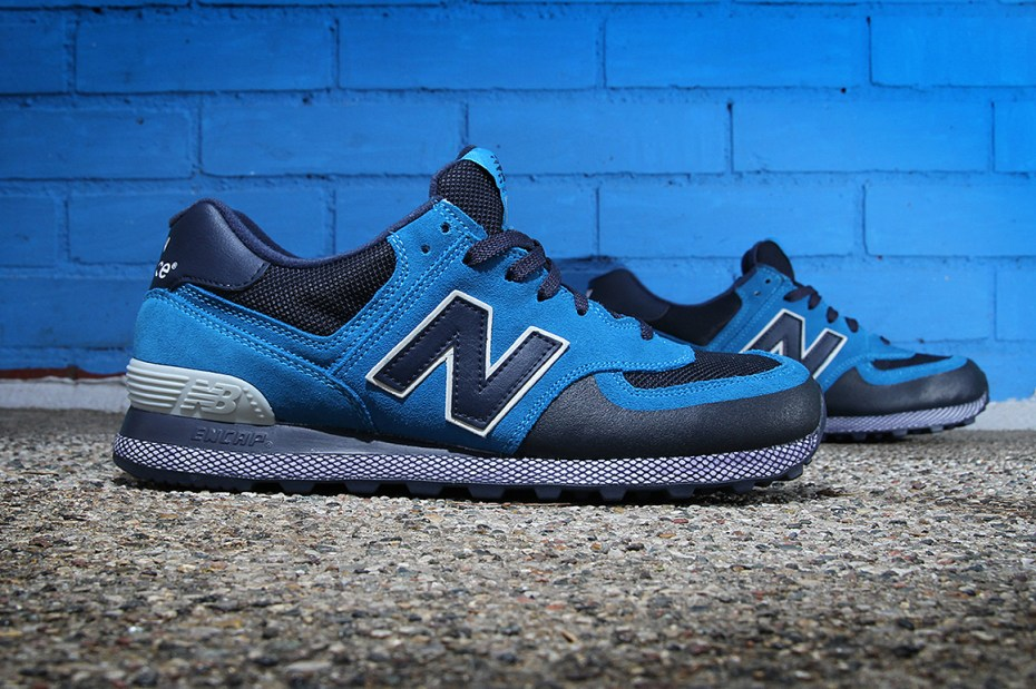 Image of New Balance 574 Blue/Navy